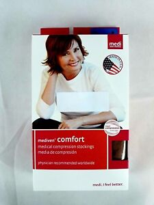 Mediven Comfort 15-20 Compression Womens Pantyhose Size 2 Closed Toe Natural
