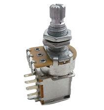 250K PUSH PULL potentiomètre linéaire-Split Shaft-pour bobines tapping, etc...