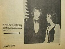 May-1972 Lancaster Pa TV Week Mag(KAREN CARPENTER/ARTHUR HILL/OPRYLAND USA/RHODA