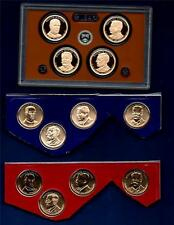 2013 P D and S Uncirculated AND PROOF Presidential Dollars -Twelve Coins