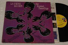 LA VERN  BAKER:LP-HER GREATEST-1°PR USA 1971 GATEF EX+