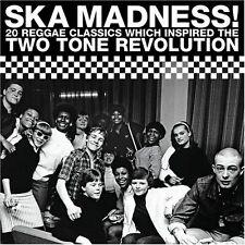 VARIOUS ARTISTS: SKA MADNESS! CD 20 REGGAE CLASSICS TWO 2 TONE REVOLUTION / NEW