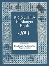 Priscilla Hardanger Embroidery Design Book #1 c.1922