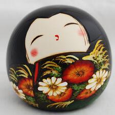 Japanese Kokeshi Doll - Authentic - Handmade in Japan - Hiyori / Sunny