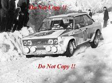 Walter Rohrl FIAT ITALIA FIAT 131 ABARTH Monte Carlo Rally 1980 fotografia 2