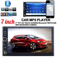 "7"" LCD 2 DIN coche estéreo reproductor de MP5 Pantalla Táctil En Tablero Radio Fm Bluetooth GPS"