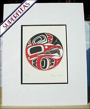 New art print RAVEN CLAN by Gitskan British Columbia Indian artist DANNY DENNIS