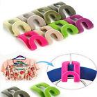 New 10pcs Home Creative Mini Flocking Clothes Hanger Easy Hook Closet Organizer