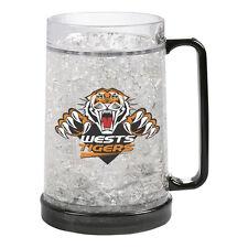 Wests Tigers NRL Logo Ezy Freeze Beer Mug Stein **NRL OFFICIAL MERCHANDISE**