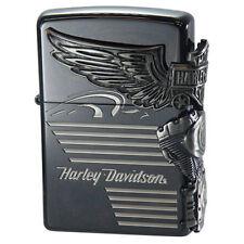 ZIPPO / HARLEY- DAVIDSON Cigarette Oil Lighter....... LIMITED EDITION HDP-25
