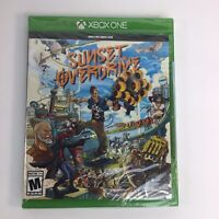 Sunset Overdrive Microsoft Xbox One 2014 NEW SEALED  - Blemish