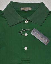Peter Millar Crown Sport Polo Shirt Mens Small NWT Green