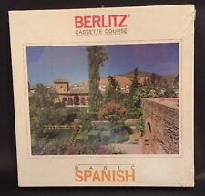 Berlitz Basic Spanish Cassette Course 96139 1985
