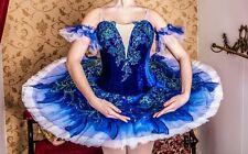 Professional Classical Ballet Tutu Costume Blue Bird Le Corsaire MTO YAGP