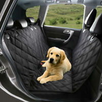 Dog Car Seat Cover Hammock Mat 100% Waterproof Car Rear Back Pet Cat Protector