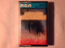 DEL NEWMAN 'S Sanremo millionaires mc cassette k7 RARISSIMA COME NUOVA VERY RARE