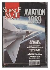 SCIENCE ET VIE    HS 167 AVIATION  1989