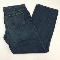 Old Navy Denim Jeans Mens 40X36 Blue Straight Leg Loose Fit Cotton Medium Washed