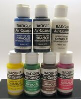 Badger Air Opaque Ready to Use Air Brush Paints - New
