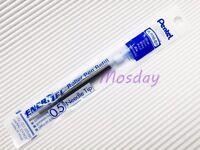 6 x Pentel Energel LR5-A 0.5mm Extra Fine Roller Ball Pen Only Refills, BLUE