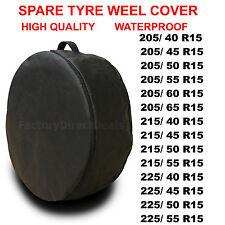 """R15"""" - 1x COVER PNEUMATICO di scorta ruota pneumatico Protettiva Borsa Salvaspazio per qualsiasi auto T53"""