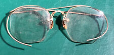 Vintage 12K Gold Filled Half Rimmed Glasses (#0255-1)
