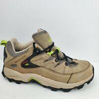 Salomon Tan Hiking Outdoor Waterproof Boots Gore-tex Women's Size 7