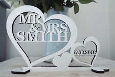 Personalised MR&MRS Sign Wedding Anniversary Top Table Decoration Gift Present