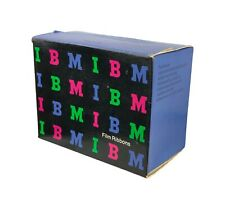 Vintage Colorful Full Box IBM Black Film Ribbons 1980