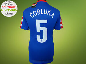 CROATIA National Away 2014-2015 (L) #5 CORLUKA PLAYER ISSUE NIKE FOOTBALL SHIRT