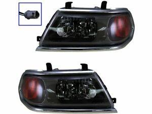 Headlight Assembly Set For 2000-2004 Mitsubishi Montero Sport 2003 2001 P298ZM