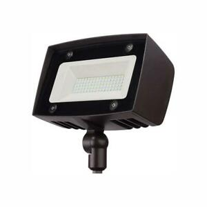 PROBRITE Dark Bronze Outdoor Integrated LED Architectural Security Flood Light