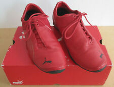 Puma Future Cat Ferrari Suede & Leather Red Shoes Sneakers 301724-04 Size 10.5