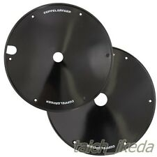 DOPPELGANGER 700C Black Bicycle Rear Wheel covers DWC064-BK ABS from Japan EMS