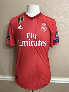 Real Madrid Player Issue Benzema France Shirt Adizero  jersey Spain