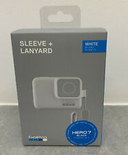 GoPro Silicone Sleeve Lanyard WHITE Go Pro Compatible For Hero 7 6 & 5