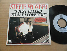 "DISQUE 45T DE STEVIE WONDER  "" I JUST CALLED TO SAY I LOVE YOU """