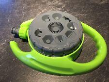 Arroseur 9 jets réglages de jets d'eau dont option d'arrosage à 360°