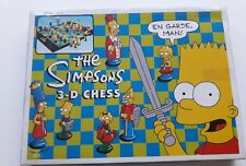 THE SIMPSONS 3D CHESS SET BOARD GAME