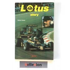 LIVRE LOTUS STORY PATRICK CAMUS ed RACING ed 1978