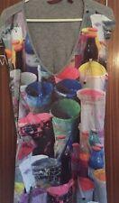 Ted Baker Beautiful Dress Unusual/rare Design Size 1 UK 8