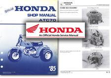 Honda ATC70 Service Workshop Repair Shop Manual ATC 70 Trike 1985 on