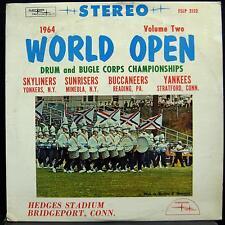 Drum & Bugle Championships - 1964 World Open Vol. 2 LP VG+ FSLP 2132 Vinyl