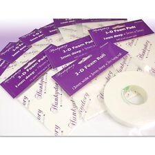 Hunkydory almohadillas de espuma de doble cara adhesiva Multicompra 10pk Tamaños Surtidos Espuma 130
