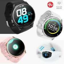 Bluetooth Smart Watch Heart Rate Sleep Monitoring Calls Reminder for Cell Phone