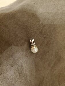 Vintage David Yurman Pearl Pendant