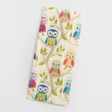 World Market Tissue Paper Party Owls 4 Sheets Bird New