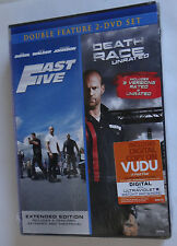 Fast Five & Death Race Extended Versions Double Feature 2 DVD Set