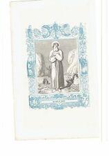 1852 Grabado, San Agapito Obispo