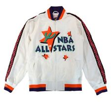 Authentic Mitchell & Ness NBA 1995 West All Star Weekend  Warm up Jacket - White